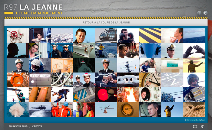 Web-documentaire R97 la Jeanne - Ultime Embarquement